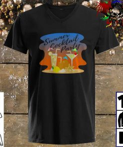 Summer Cocktail Party Design for Vacation Lovers v neck