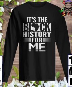 It's The Black History For Me, Black History Month 2021 Sweatshirt