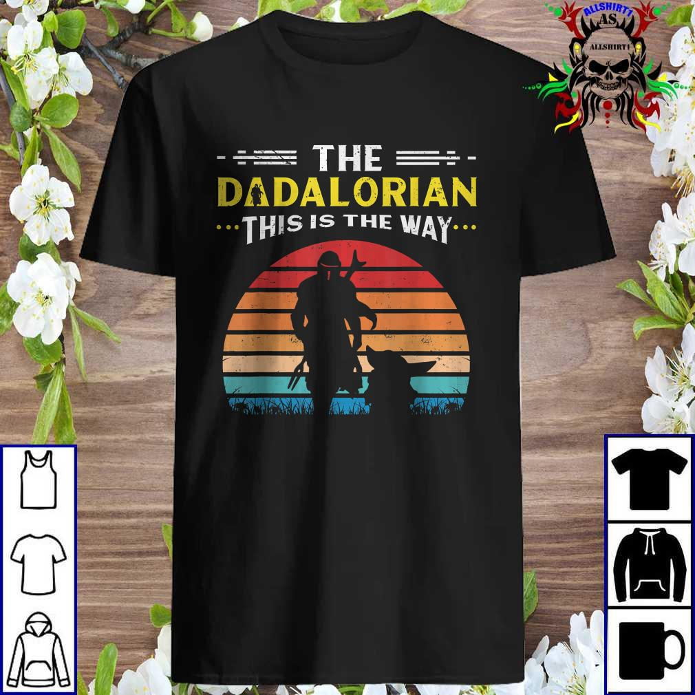 Youth Vintage Mando Short Sleeve T-Shirt This is The Way Shirt