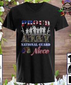 Proud Army National Guard Niece Tee U.S. Military v neck